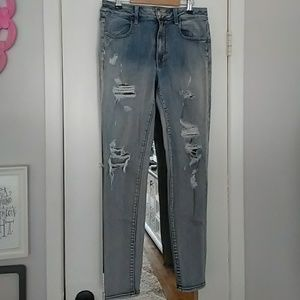 American Eagle Distressed Hi-Rise Jegging 12